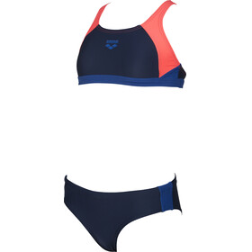 arena Ren Two-Pieces Swimsuit Girls navy-shiny pink-royal
